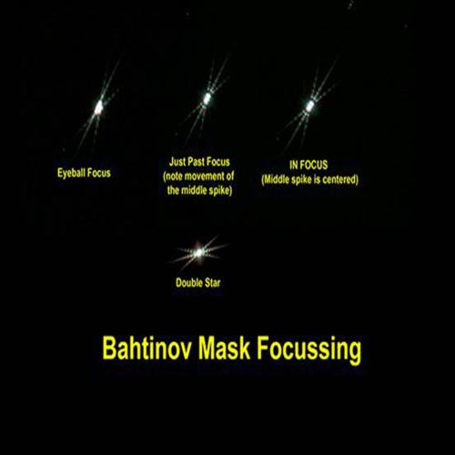 Aluminum Alloy Bahtinov Focusing Mask