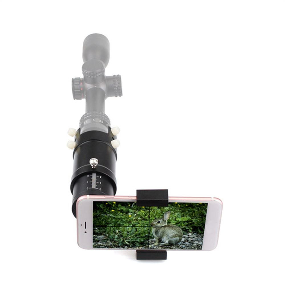 Smartphone Mounting Adapter For Rifle Scope