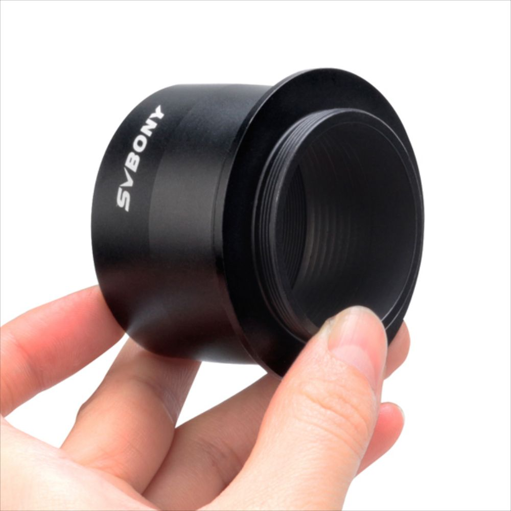 Svbony SV125 Black 2'' to T2 Camera Adapter for SLR Cameras