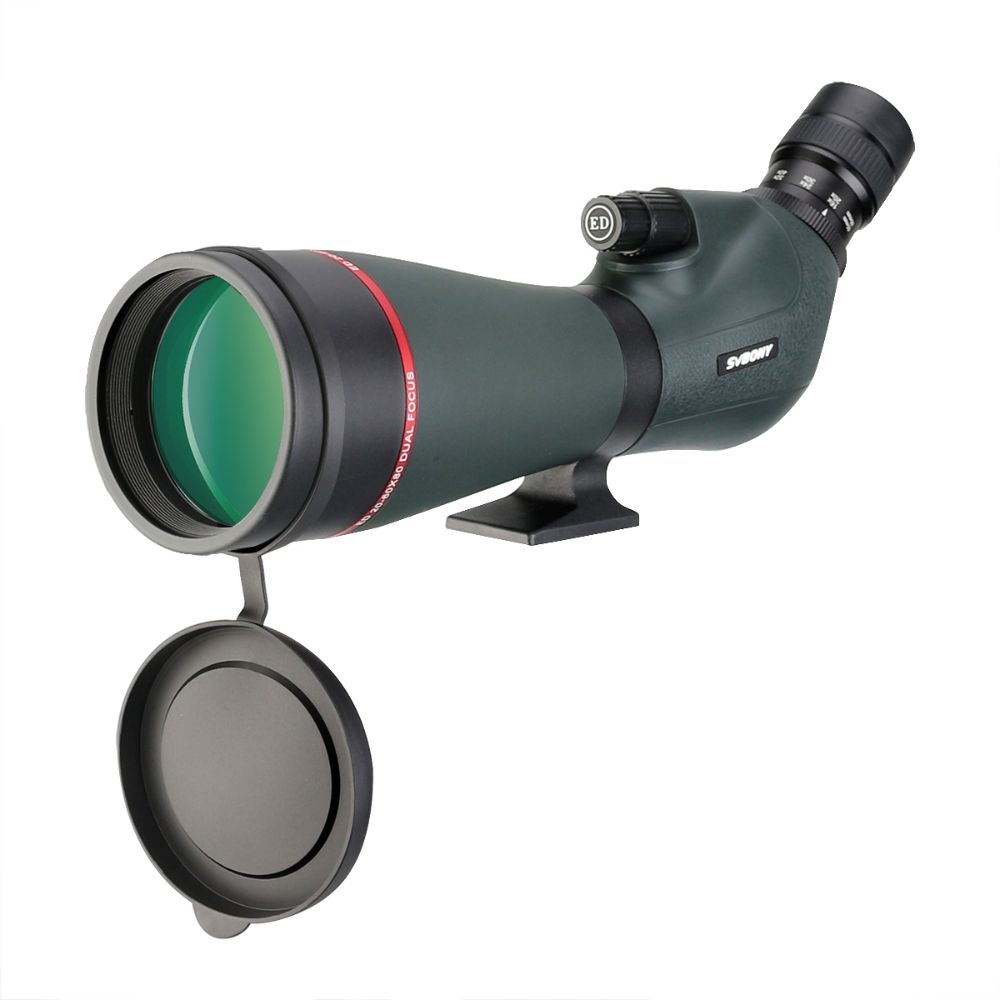 SV406P 20-60X80 ED Extra-Low Dispersion Dual Focus Spotting Scope