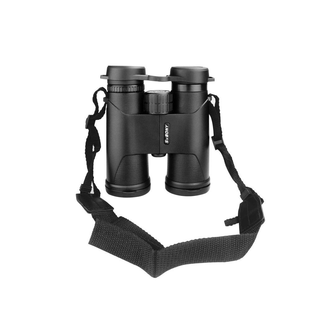SA202 10x42 Roof Prism Binocular with Neck Strap and Soft Carrying Case