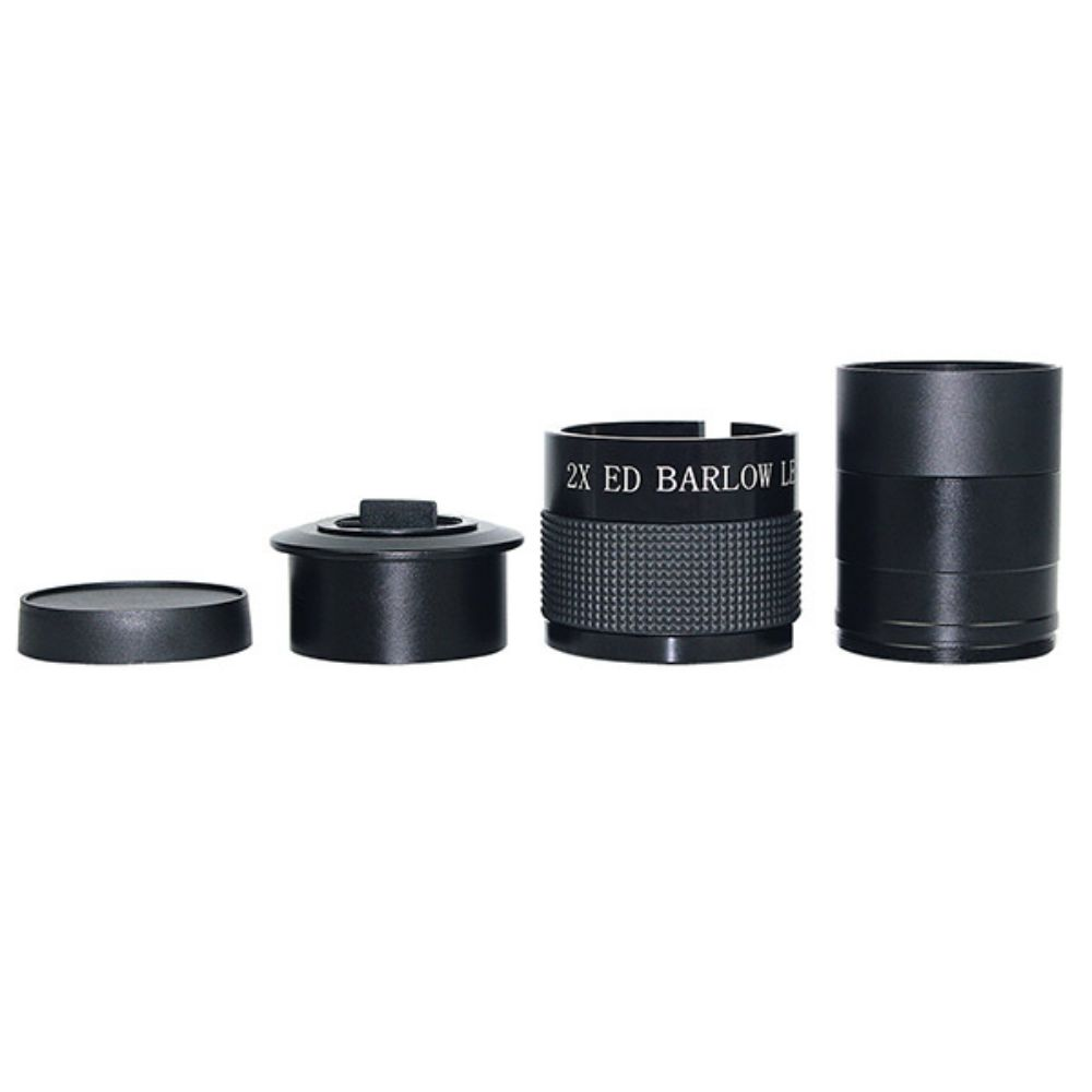 "2"" ED 2x Barlow Lens w/ 2"" to 1.25 "" Adapter"