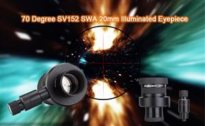 New SV152 SWA 70 Degree 20mm Illuminated Eyepiece doloremque