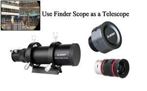 How to Use a Guider Scope as Telescope doloremque