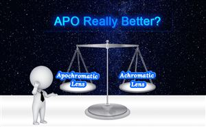 Difference Between APO & Achromatic Lens Under Diffraction Ring doloremque
