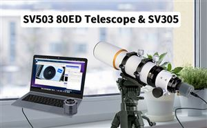Quick Test of SV503 80 ED Telescope with SV305 Camera doloremque