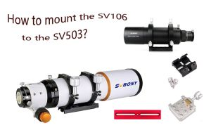 How to mount the SV106 to the SV503? doloremque